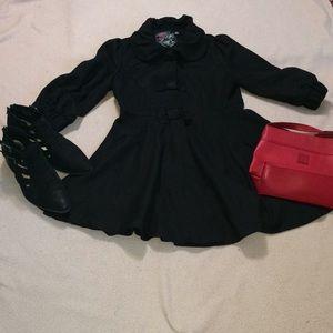 Wool Blend Short  Coat Size S